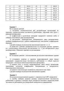 Контрольная работа по статистике для студентов ВЗФЭИ на заказ